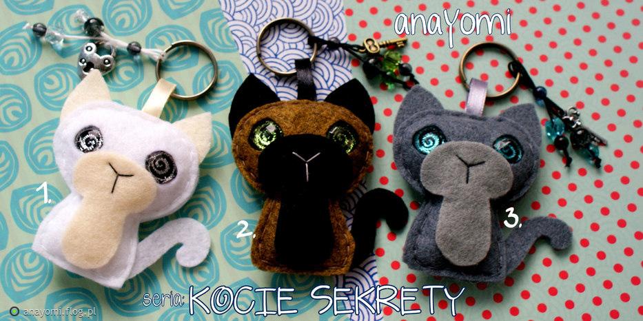 Nowość brelok kot - kocie sekrety - Fotoblog anayomi.flog.pl TY82