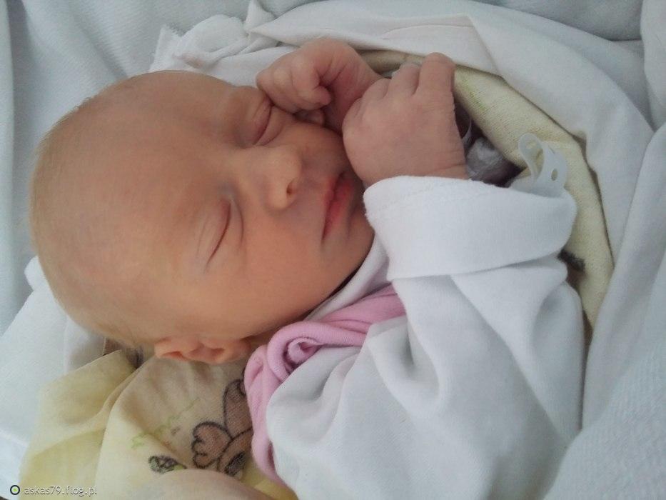 Majeczka- urodzona 8 stycznia 2016☺